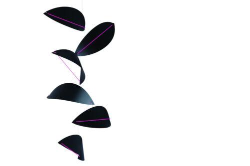 Flensted Modern Kites Modern Hanging Baby Mobile Decor Black Green Kinetic Art
