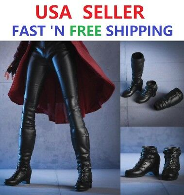 1//6 Women Ankle Boots For Avengers Scarlet Witch For Hot Toys PHICEN Figure❶USA❶