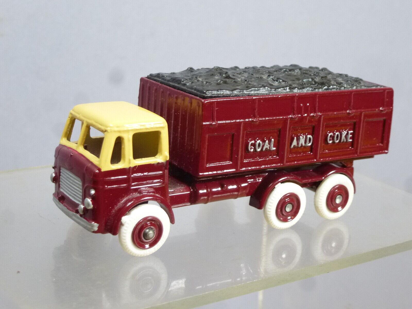 Budgie Juguetes Modelo No.206 Leyland Cochebón & Coca Cola Camión (terminada en Br librea)