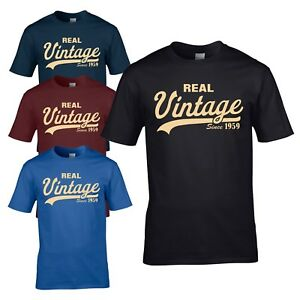 Image Is Loading Vintage Since 1959 T Shirt Funny Novelty 60th