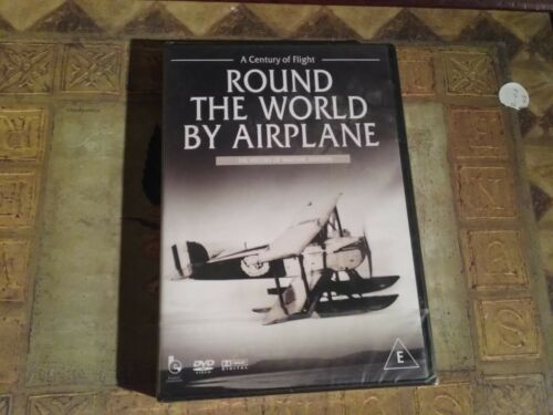 1 of 1 - Round The World By airplane (DVD, 2007) new and sealed freepost