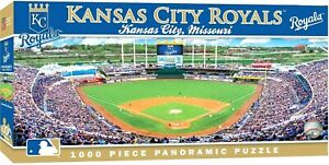 8e08bddb Details about KANSAS CITY ROYALS STADIUM PANORAMIC JIGSAW PUZZLE NHL 1000  PC KAUFFMAN STADIUM