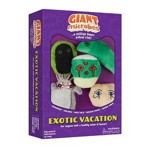Giant-Microbes-Peluche-Original-Regalo-Educativo-Exotico-Vacaciones-Set-de-5