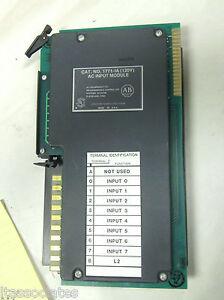 Allen Bradley 1771-IA 120 V AC Input Module  Used
