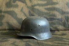 WW2 Original German Helmet M40 !!! NARVA Battlefield RELIC !!!
