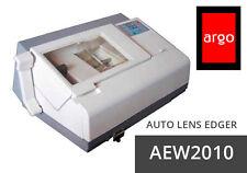 SEMI AUTO LENS EDGER ARGO AEW2010 W/PATTERN MAKER AND LOCAL CENTER METER 110/220