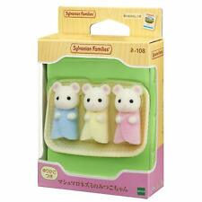 Sylvanian Families Calico Critters Marshmallow Mouse Mother Epoch Japan NE-104