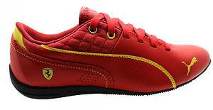 Puma 04 con deportivos Zapatos Sf Drift Cat cordones de 305136 rojo sintéticos D4 6 cuero SxAnSr0