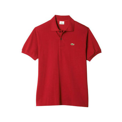 NEW Lacoste L.12.12 Original Short Sleeve Polo Red