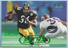 JEROME BETTIS Steelers 1998 Fleer HERITAGE COLLECTION Parallel #18H SP #118/125