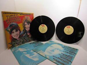 Times-Square-Original-Motion-Picture-Soundtrack-RSO-RS2-4203-Comp-2X-LP-VG