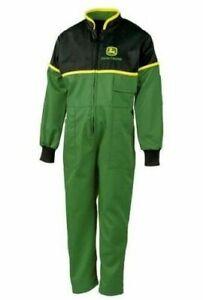 Genuine-John-Deere-Childrens-Overalls-Juniper-Green-Kids-Coverall-Christmas-Gift