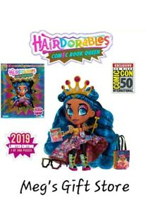 RARE-FIND-New-2019-Hairdorables-Limited-Edition-Series-Noah-Doll-155-of-500
