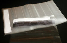new 15 page NEGATIVES FILM SLEEVES ARCHIVAL STORAGE SHEETS for 35mm film