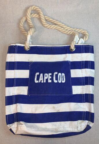 Get A Gadget Cape Code Striped Rope Beach Tote Can