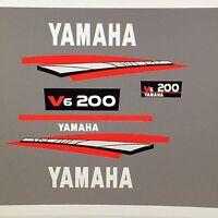 Yamaha Outboard 200 Hp 2 Stroke Decal Sticker Kit Marine Vinyl