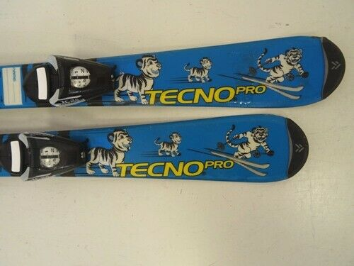Ski Kinder Tecno Pro Pro Pro Skitty mit Bindung, 90cm (CC9802) 267dcc