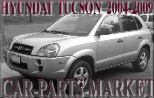 Pour Hyundai Tucson 04-09 Droit côté conducteur électrique aile miroir de verre avec plaque