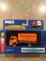 Ho Scale Imex  Max Spinner Grocer  Die Cast Truck