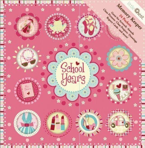Escuela Años Dulces Recuerdos Deluxe álbum Girl Libro
