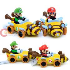Nintendo Super Mario Kart 7 Bee Diecast Collection set of 2 Mario Luigi Bee Car