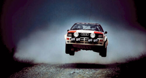 Audi Quattro Rally Car XXL Over 1 Meter Wide Glossy Poster **UK SELLER**