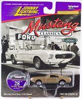 Johnny Lightning Mustang Classics 28 1963 Mustang Ii Gold 1997