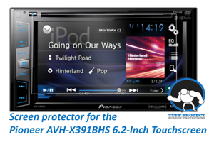 Clear Screen Protectors for Pioneer AVH-X391BHS (2pcs) - Tuff Protect