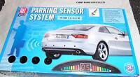 Rear Parking Sensors 4 Full Kit With Instruction 12 V Dc Car Taxi Hgv