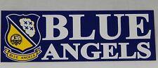 US NAVY BLUE ANGELS SEAL CREST BUMPER STICKER DECAL U.S.