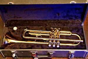 GOOD QUALITY EARLHAM TRUMPET IN HARD CASE WITH ORIGINAL RECEIPT COST 263 IN 1998