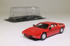 del Prado; 1978 BMW M1 Sports; Red; 1:43 Scale, Excellent in Pack