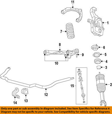 MOPAR 68227900AB Suspension Control Arm Front Right Upper