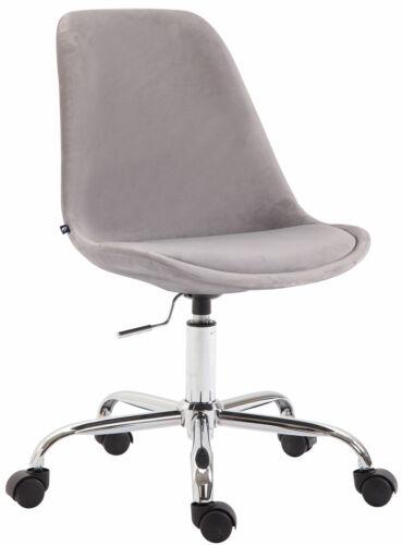 Bürostuhl Toulouse Samt Schreibtischstuhl Drehstuhl Polsterstuhl Arbeitshocker