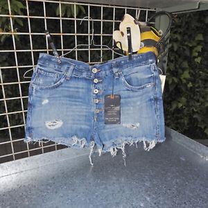 Sz Lucky High Pantaloncini Shortie 28 6 Rise Nwt Brand t5B5Xqw