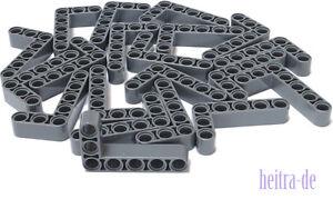 LEGO-Technik-20-x-Liftarm-3x5-dick-dunkelgrau-32526-NEUWARE-L13
