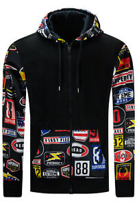 New-Men-Sweater-Nascar-Cars-Printed-BIG-amp-TALL-Hoodie-Black-Superiority-4X-6XL