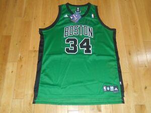low priced f74dd c4d9b Details about New adidas PAUL PIERCE Alternate BOSTON CELTICS #34 NBA Team  Swingman JERSEY XXL