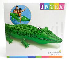 INTEX Reittier Alligator 168x86cm Krokodil Wassertier aufblasbar Pooltier (F37)