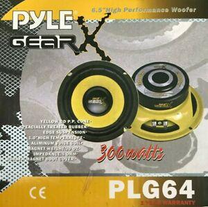 """Pyle - PLG64 - Woofer 6.5"""" Plye Gear 300Watts"""