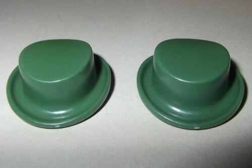 209119 Sombrero copa baja verde 2u playmobil,hat,victoriano,victorian
