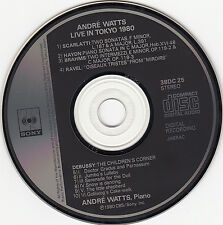 Andre Watts Live in Tokyo 1980 ( Japan Pressung )