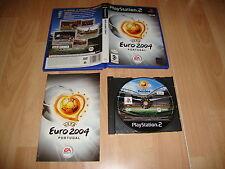 UEFA EURO 2004 PORTUGAL DE EA SPORTS FUTBOL PARA LA SONY PS2 USADO COMPLETO
