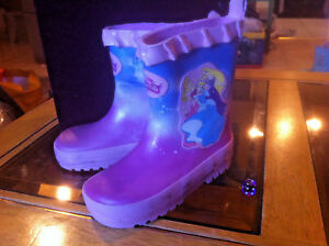 Disney Princess Pink Wellies Welly Boots New Shop Soiled Child Size 7 RRP £20