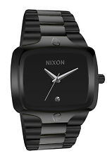 Nixon A140001 Player Black Silver Dial Stainless Steel Bracelet Men Watch New