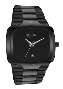 Nixon a140001 player black silver dial stainless steel bracelet men watch new 222934152 ebay for Bulltoro watches
