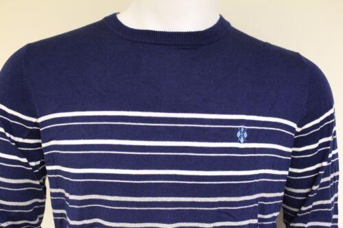 Burlington Uomo L//S Girocollo Cotone Fine Pullover Di Cashmere Taglia Large 60240