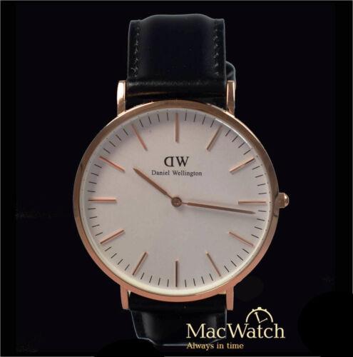 1 von 1 - Daniel Wellington Herren Uhr Classic Sheffield  0107DW Leder, schwarz, Neu, OVP