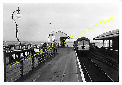 Goxhill and Ulceby Line GCR. 4 New Holland Pier Railway Station Photo