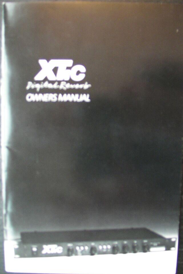 Digital rumklang, Alesis XT:C